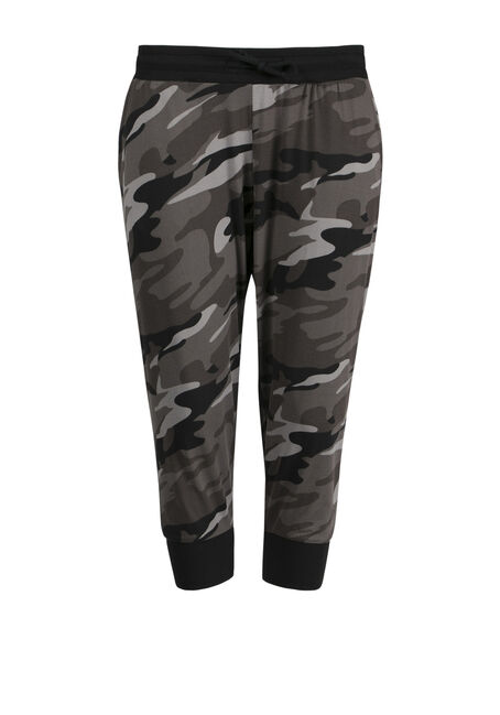 Ladies' Camo Jogger Capri