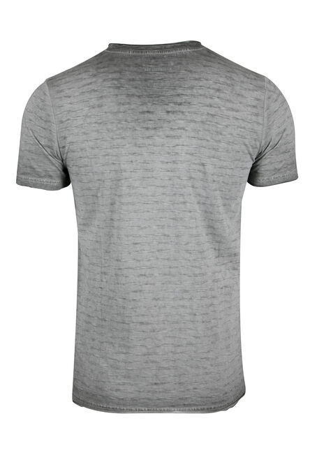 Men's Vintage V-neck Tee, GREY, hi-res