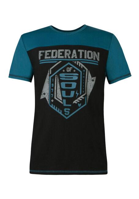 Men's Federation of Souls Tee, BLACK, hi-res