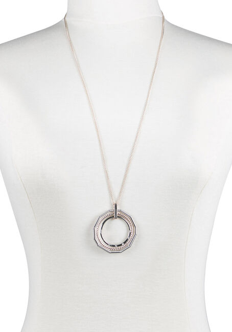 Ladies' Trio Geo Necklace