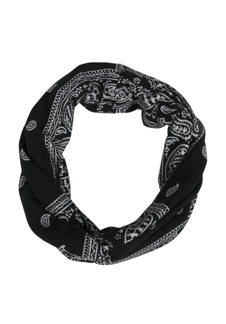 Ladies' Twisted Head Wrap, BLACK, hi-res