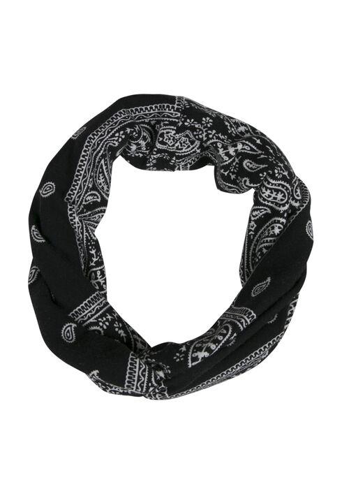 Ladies' Twisted Head Wrap, BLACK, hi-res