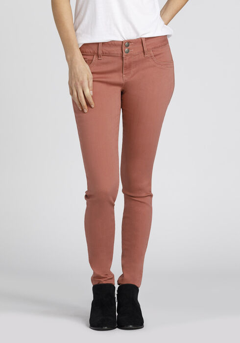 Ladies' Skinny Pants, PINK, hi-res