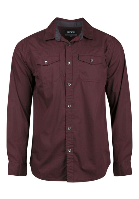 Men's Relaxed Micro Check Shirt