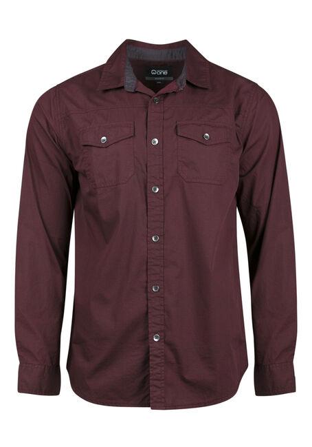 Men's Relaxed Micro Check Shirt
