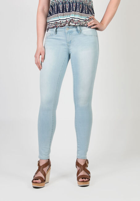 Ladies' Low Rise Skinny Jeans