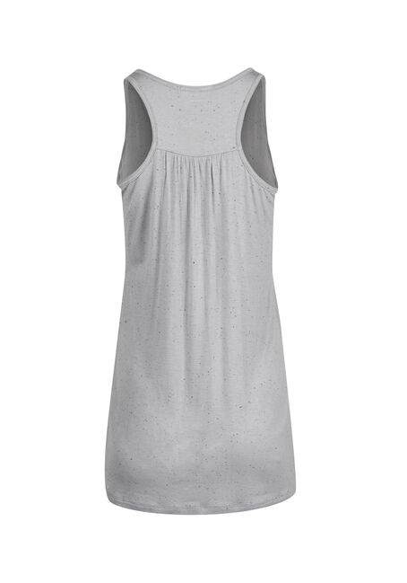 Ladies' Sarcasm Attitude Tank, GREY, hi-res