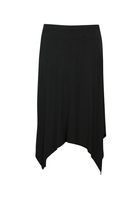 Ladies' Sharkbite Skirt, BLACK, hi-res