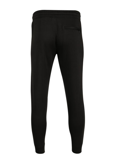 Men's Fleece Jogger, BLACK, hi-res