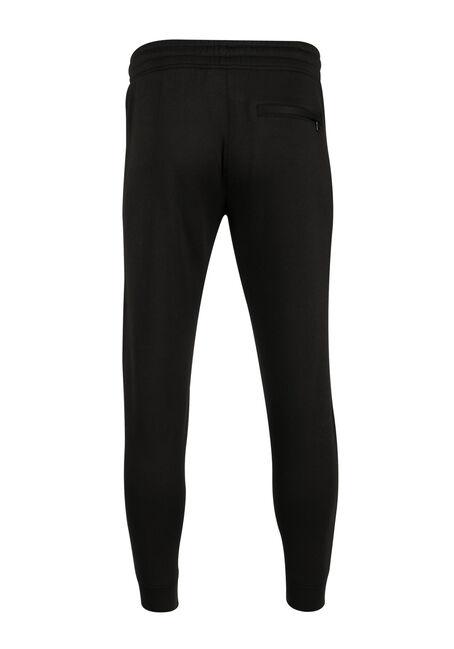 Men's Fleece Jogger, BLACK, hi-res