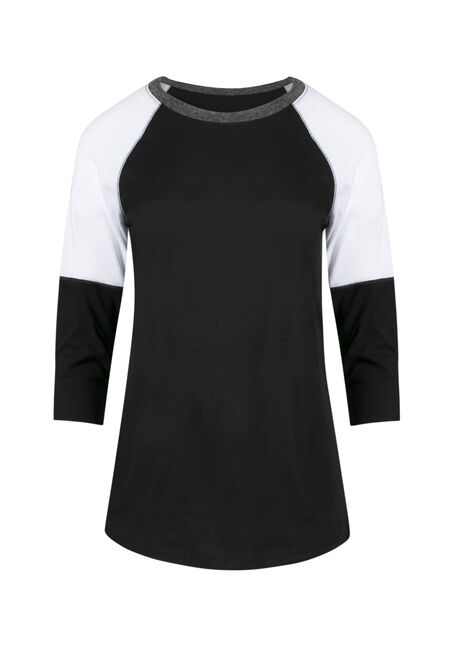 Ladies' Colour Block Tee