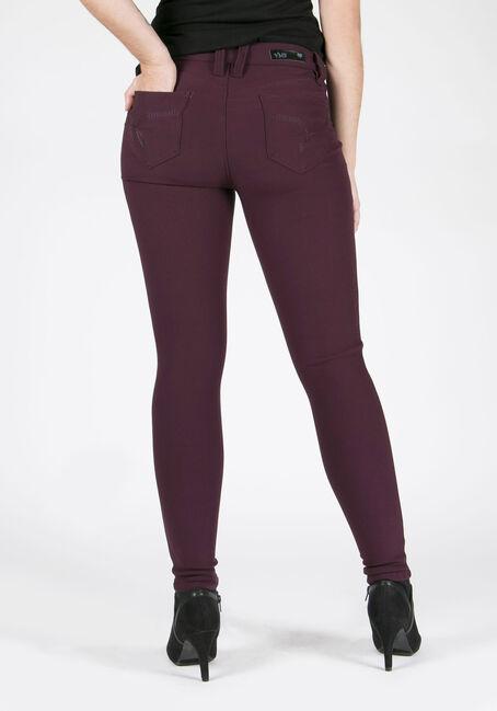 Ladies' Skinny Pants, PRUNE, hi-res