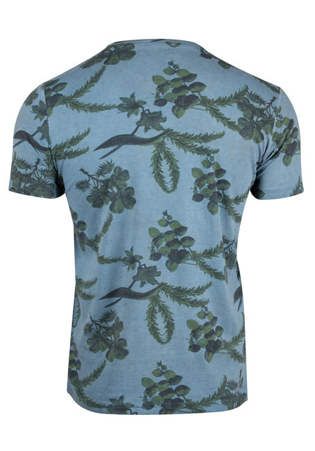 Men's Foliage Cold Wash Tee, BLUE, hi-res