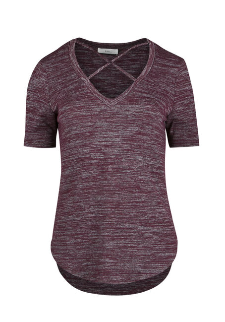 Ladies' Cross Neck Top