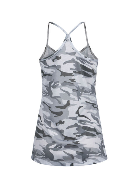 Ladies' Camo Tank, CHARCOAL, hi-res