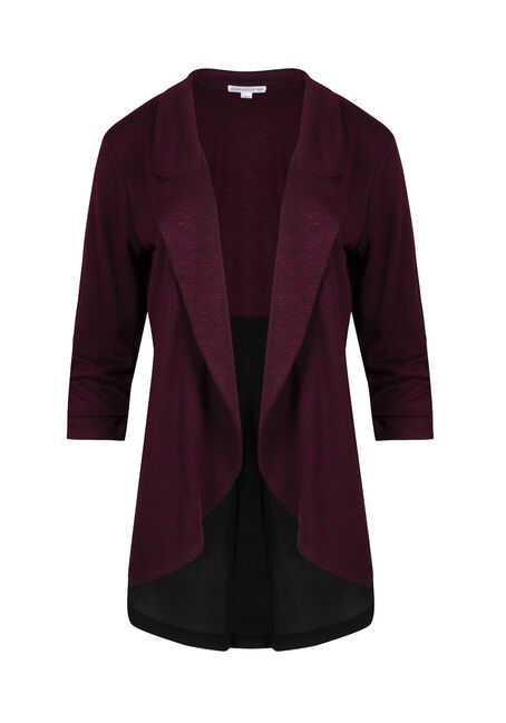 Ladies' Chiffon Back Blazer