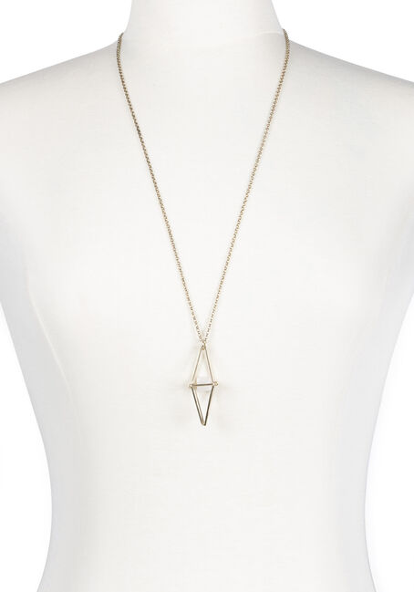 Ladies' Geometric Pendant Necklace