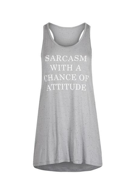 Ladies' Sarcasm Attitude Tank