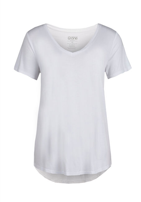 Ladies' Relaxed Tee, WHITE, hi-res