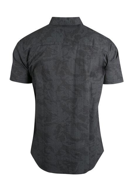 Men's Comfort Stretch Camo Shirt, BLACK, hi-res