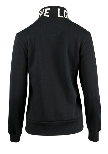 Ladies' Love Track Jacket, BLACK, hi-res