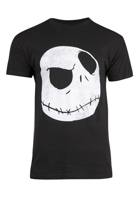 Men's Nightmare Before Christmas Tee, BLACK, hi-res