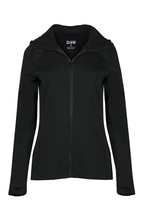 Ladies' Super Soft Hoodie, BLACK, hi-res