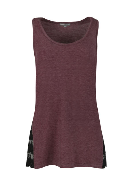 Ladies' Lace Insert Tank