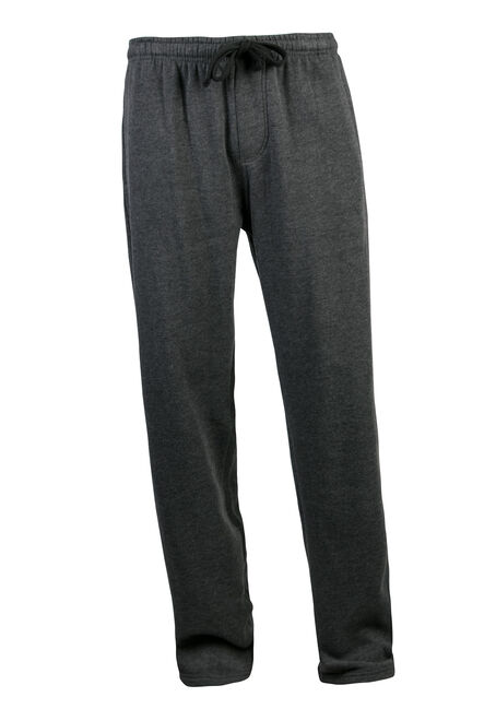 Men's Fleece Pant, CHARCOAL, hi-res