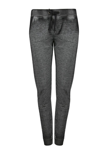 Ladies' Crochet Trim Jogger