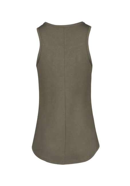 Ladies' Cage Neck Tank, IVY, hi-res