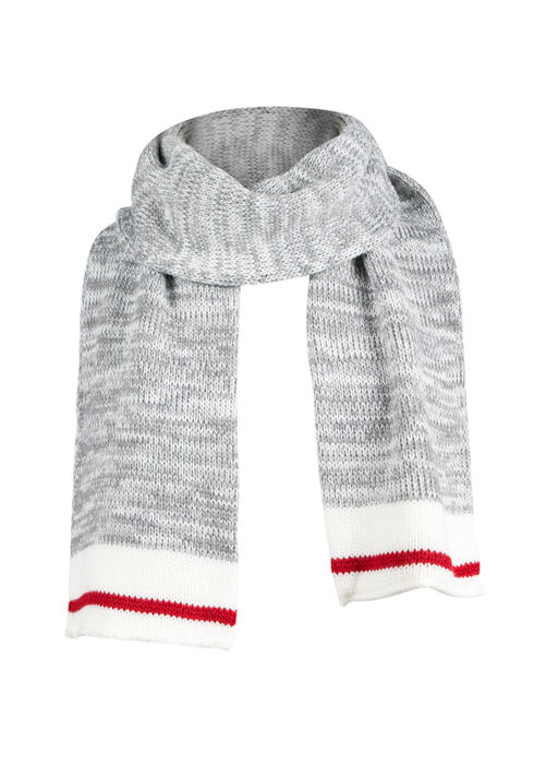Ladies' Cabin Scarf, GREY, hi-res