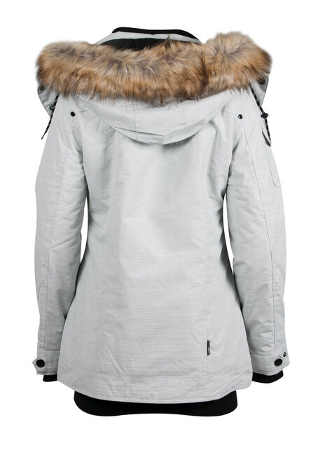 Ladies' Utility Parka, WINTER WHITE, hi-res