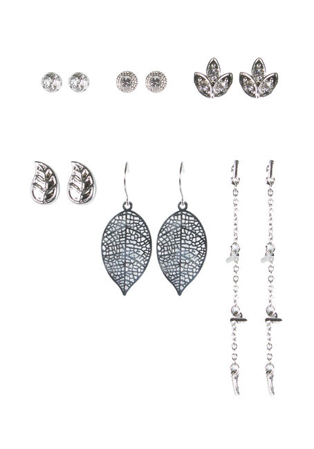 Ladies' 6 Pair Earring Set