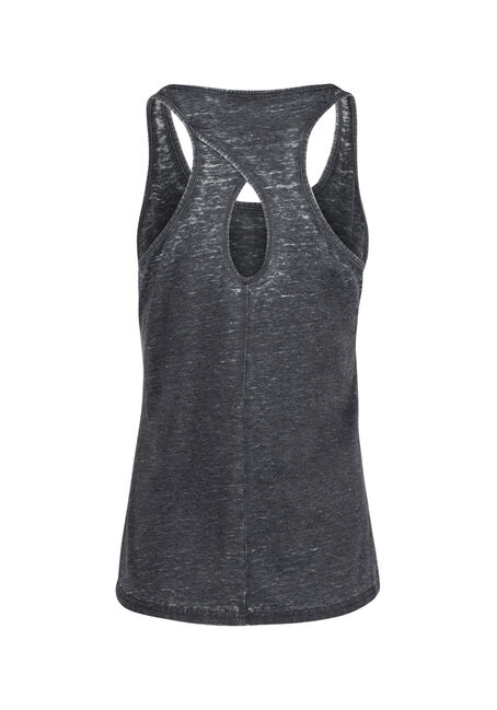 Ladies' True North Tank, BLACK, hi-res