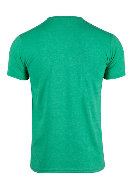 Men's Elf'd Up Tee, Heather Irish Green, hi-res
