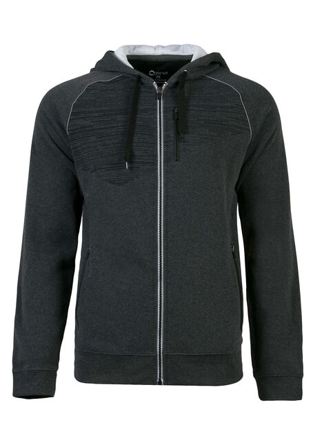 Men's Athletic Zip Front Hoodie