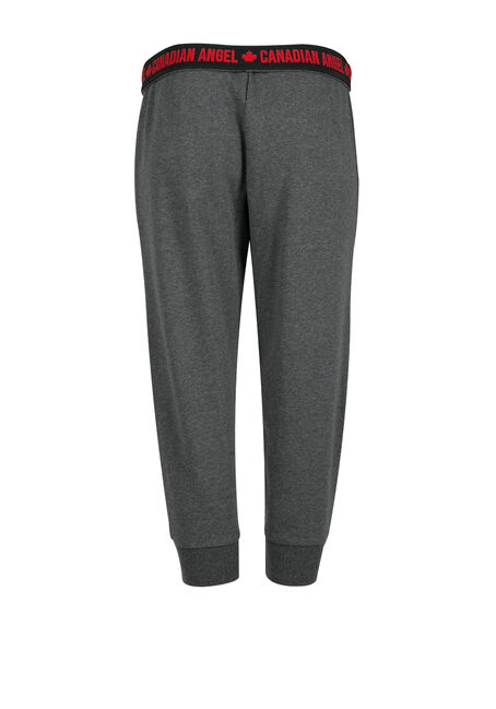 Ladies' Canada Jogger Capri, CHARCOAL, hi-res