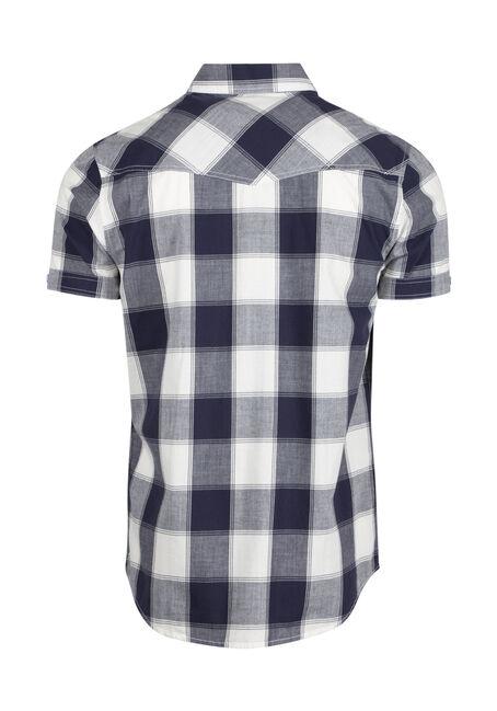 Men's Buffalo Plaid Shirt, NAVY, hi-res