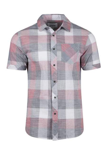 Men's Tonal Plaid Shirt