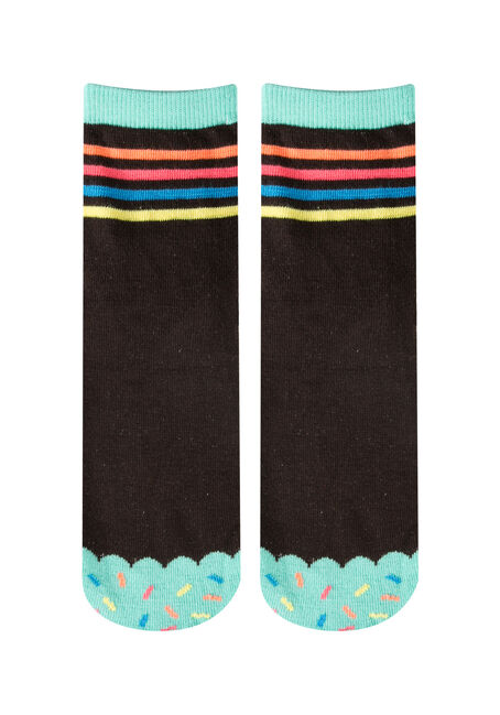 Ladies' Boxed Cupcake Socks, MINT, hi-res