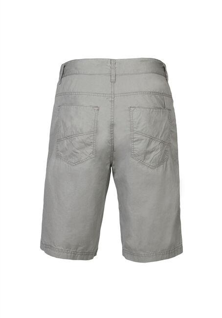 Men's Poplin Five Pocket Short, STONE, hi-res