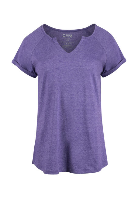 Ladies'  Notch Neck Tee