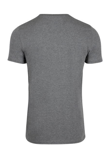 Men's Everyday Crew Neck Tee, HEATHER GREY, hi-res