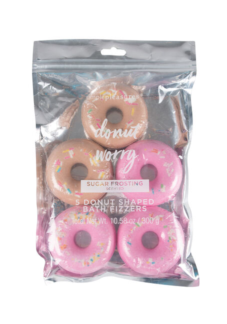 Donut Worry Bath Fizzers