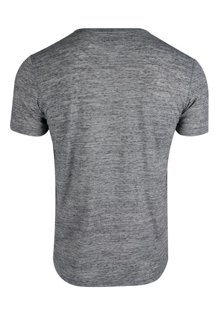 Men's Space Dye Henley, CHARCOAL, hi-res