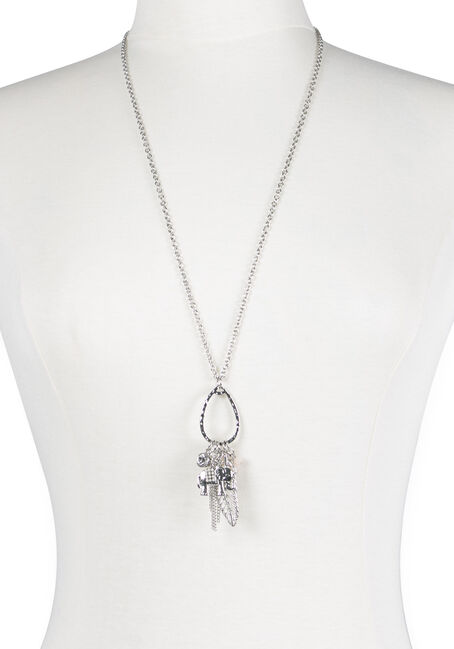 Ladies' Multi Charm Necklace