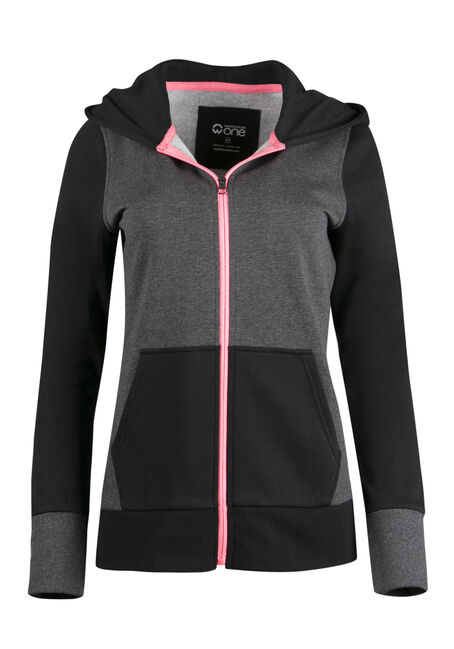 Ladies' Colour Block Hoodie