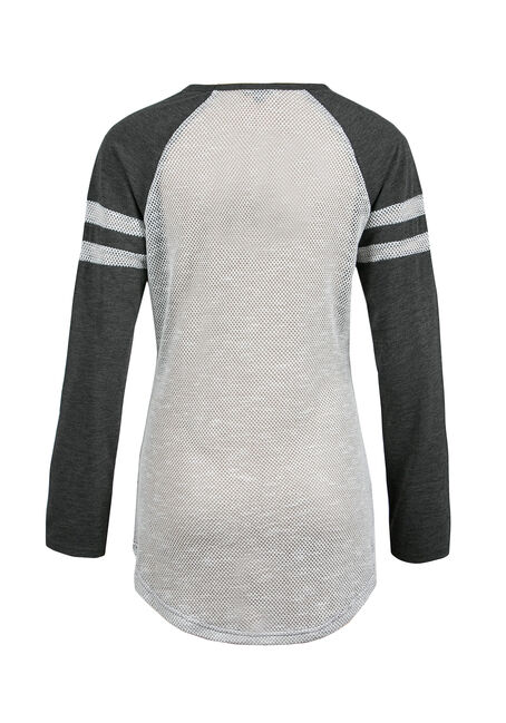 Ladies' Tunic Football Tee, WINE, hi-res