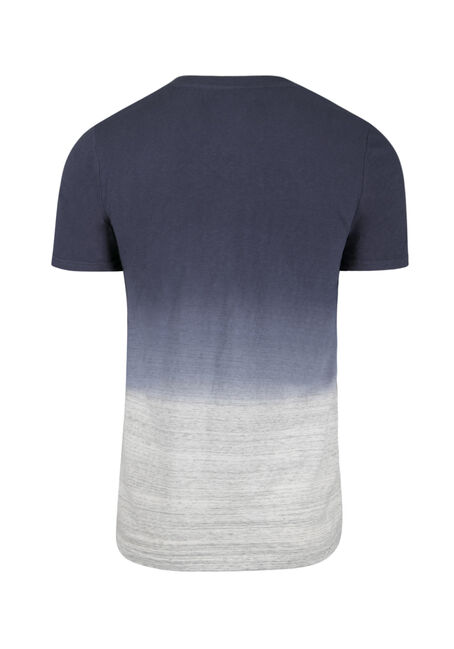 Men's Everyday Dip Dye Tee, MEDIUM BLUE, hi-res